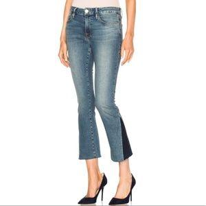 FRAME Denim Le Crop Mini Boot Blue Jeans Size 23